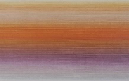 «Latences et crépuscules #13 », 2011-2012, acrylique sur papier chiffon, 50 x 66 cm