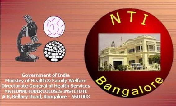 National Tuberculosis Instutute, Bangalore logo