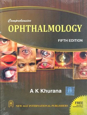 Comprehensive Ophthalmology 5th Edition by A K Khurana Cover