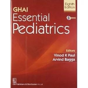 Ghai Essential Pediatrics 2013, 8th Edition Cover