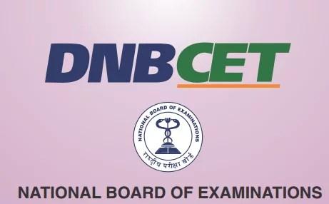 NBE DNB CET Logo