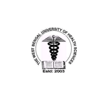 THE WEST BENGAL UNIVERSITY OF HEALTH SCIENCES (WBUHS) logo