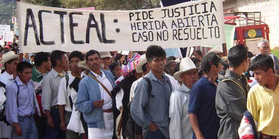 Masacre de Acteal, persistencia de una política genocida en Chiapas: Abejas de Acteal - Desinformémonos
