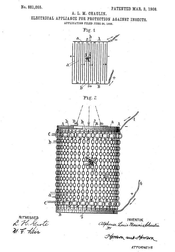 Origen del insectocutor de lámparas