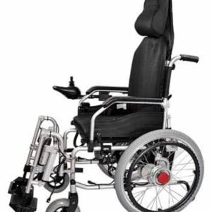 Electric Wheelchair hybrid with reclining feature