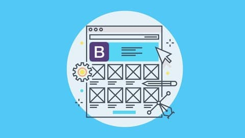 Master Bootstrap 4 (4.3.1) and code 7 projects with 25 pages
