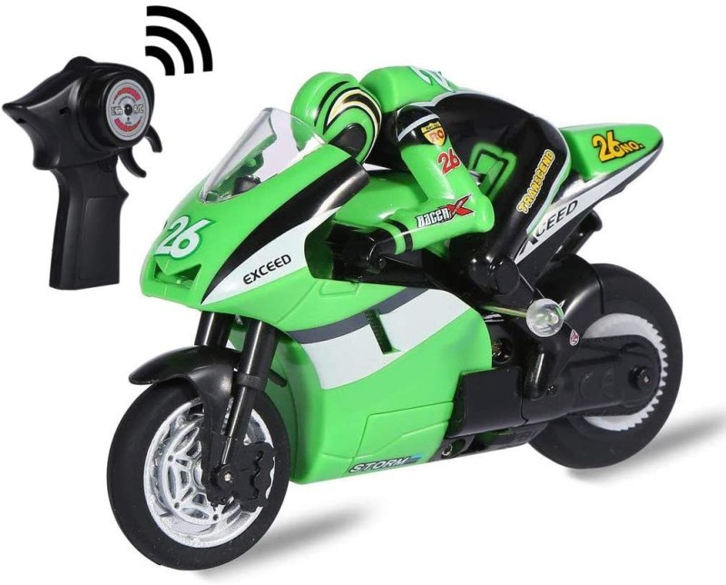 Top Race 4 Channel RC Remote Control Motorcycle
