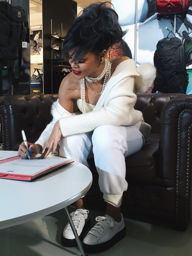 Rihanna-Partners-With-PUMA