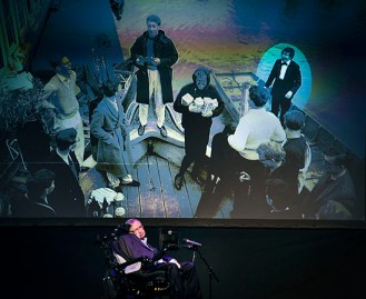 "British theoretical physicist professor Stephen Hawking gives a lecture entitled: ""A Brief History of Mine"" during the Festival Starmus Festival on the Spanish Canary island of Tenerife on June 29, 2016. At this point he talks about his years as a student at the University of Oxford. At the end of the Festival Starmus a medal will be awarded to Stephen Hawking, the new award for science communication is in honour of Professor Stephen Hawking and recognises the work of those helping to promote public awareness of science through music, arts and cinema."