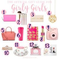Official Girly-Girl Gift Guide