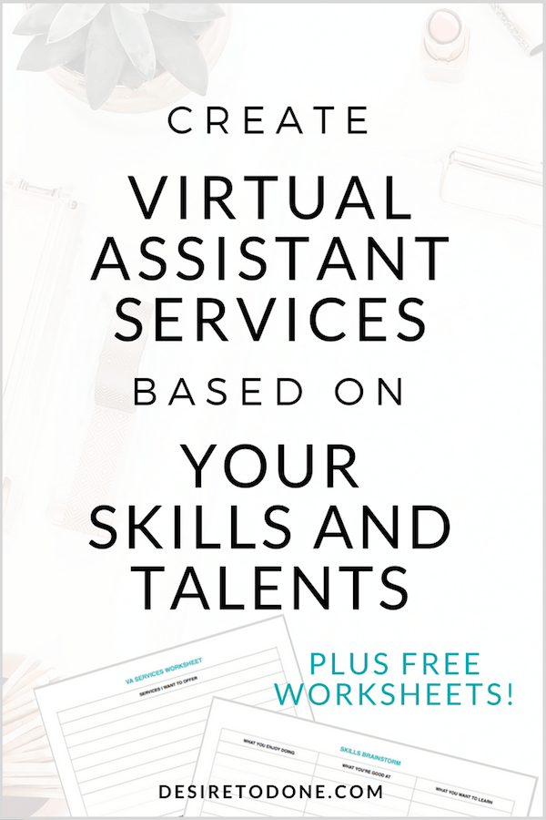 If you're a new virtual assistant wondering what type of services to offer clients, you have to try this! This article takes you through a simple exercise for figuring out your services. It's easy to do and fun! Plus you might be surprised what comes up!
