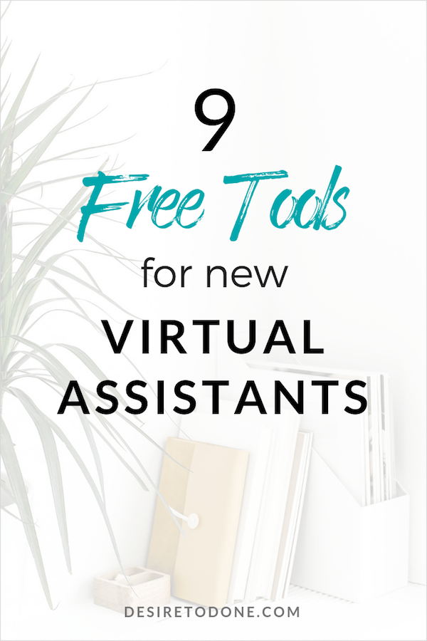 When you're a new virtual assistant, it can be confusing and stressful trying to figure out everything you need for your business. I've been a VA since 2014 so I've tried tons of different programs and tools. Today I've gathered the best free tools out there so you don't have to waste your time finding the right ones.