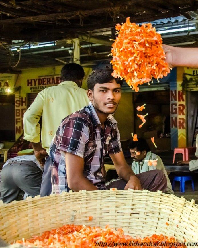 Gudimalkapur Flower Market
