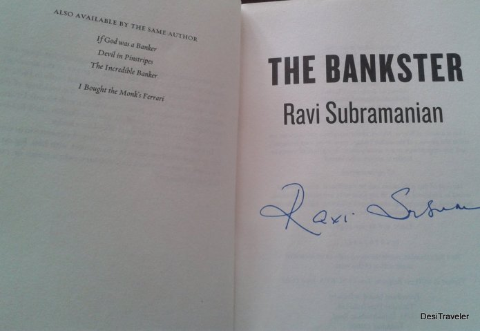 Signed copy by Ravi Subramanian