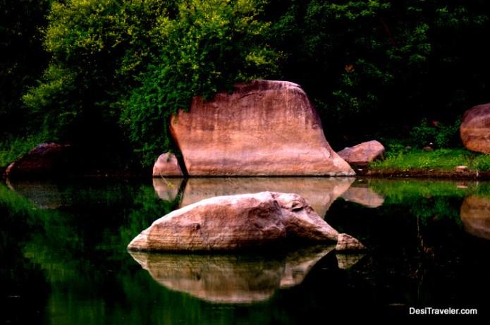 turtle rock durgam cheruvu hyderabad