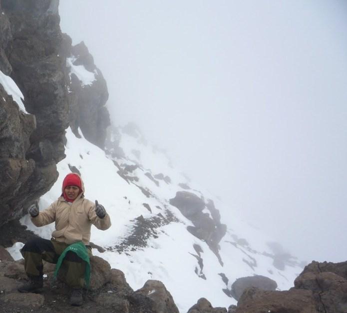 Kiran near Mt. Kilimanjaro