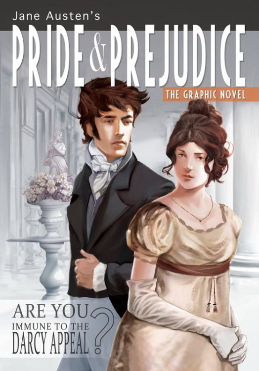 Pride & Prejudice graphic novel comic con
