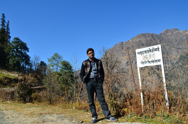 Pankaj Sharma hindi travel blogger India