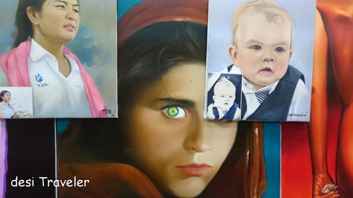 The Afghan Girl by Steve McCurry