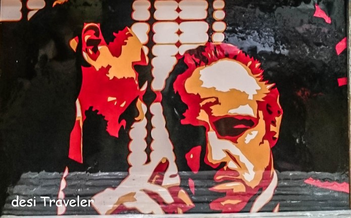 The Godfather Marlon Brando Replica Painting