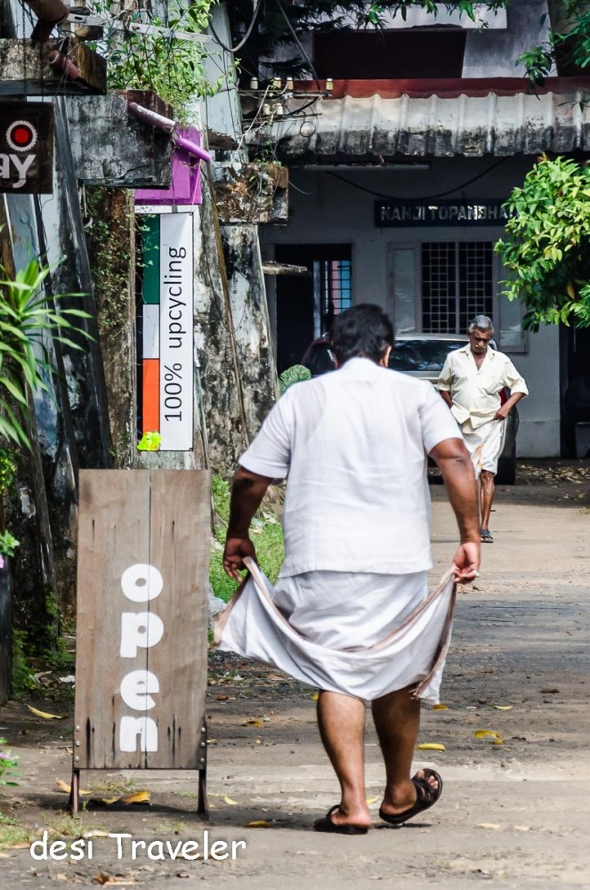 Streets of Fort Kochi-Muziris Biennale