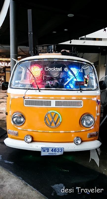 Volkswagen Kombi thailand food van