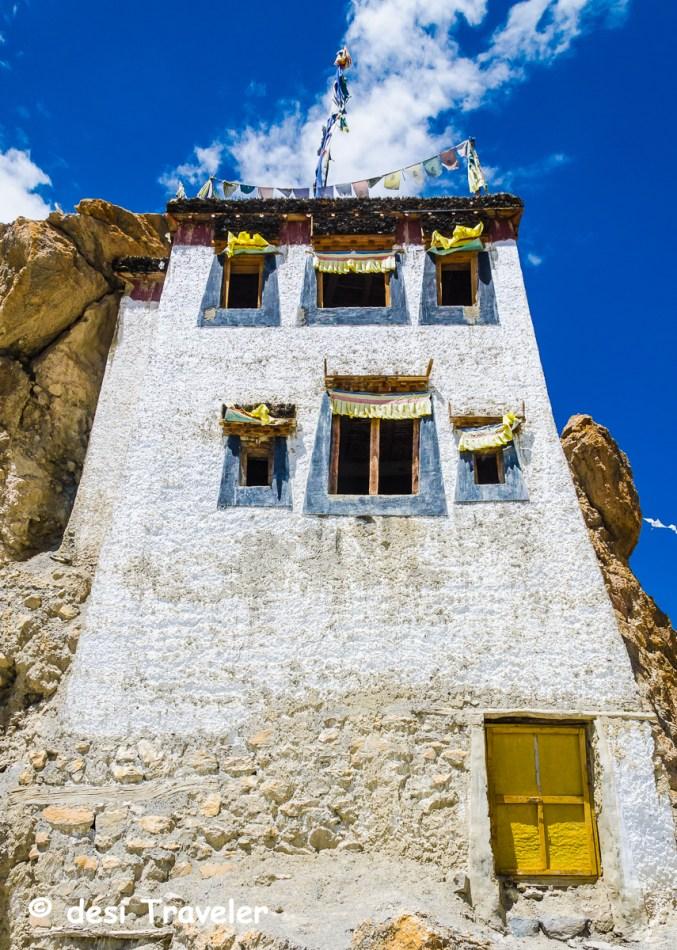 Dhankar Monestery Spiti Himachal Pradesh