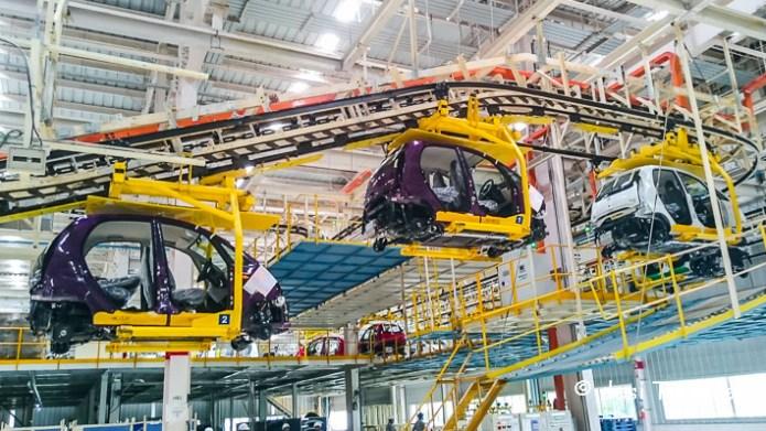 Tata Nano car plant  manufacturing process