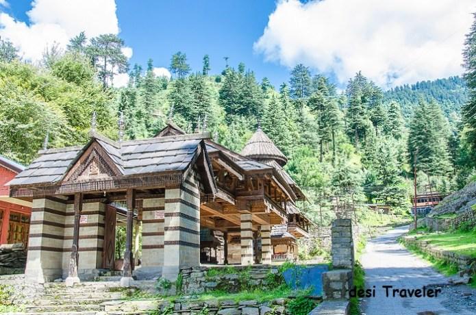 Tripura Sundari Temple Naggar Himachal Pradesh