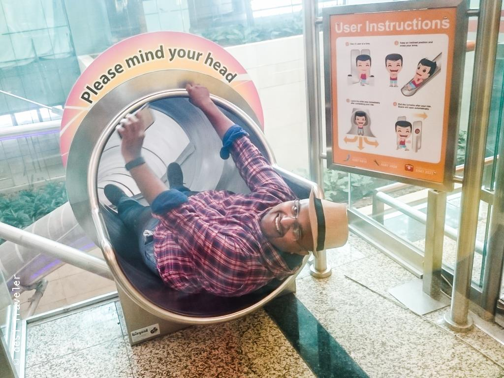 Fun things to do at Changi Airport