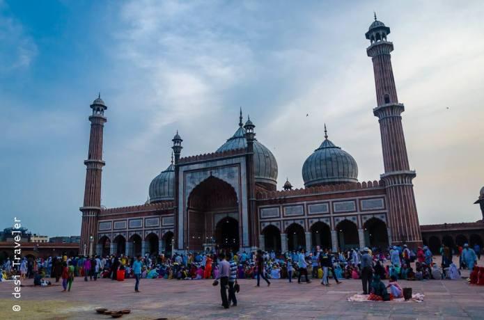 Jama Masjid Delhi Ramadan Walk
