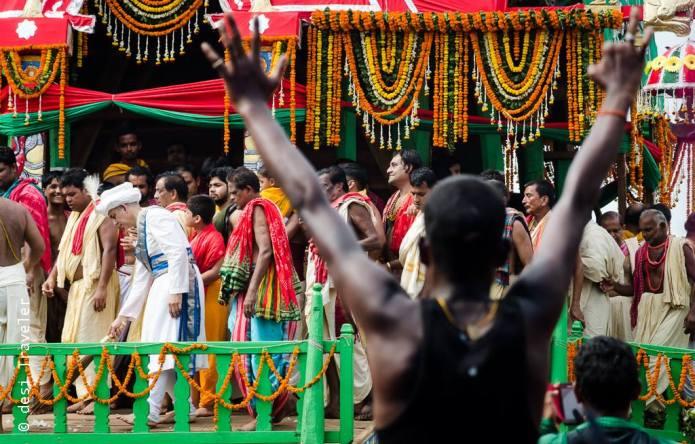King of Odisha Rath Yatra Puri