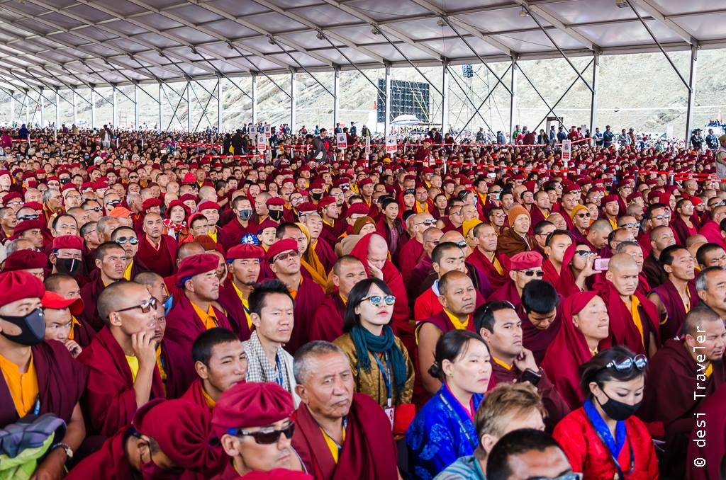 Monks at Naropa Festival Leh