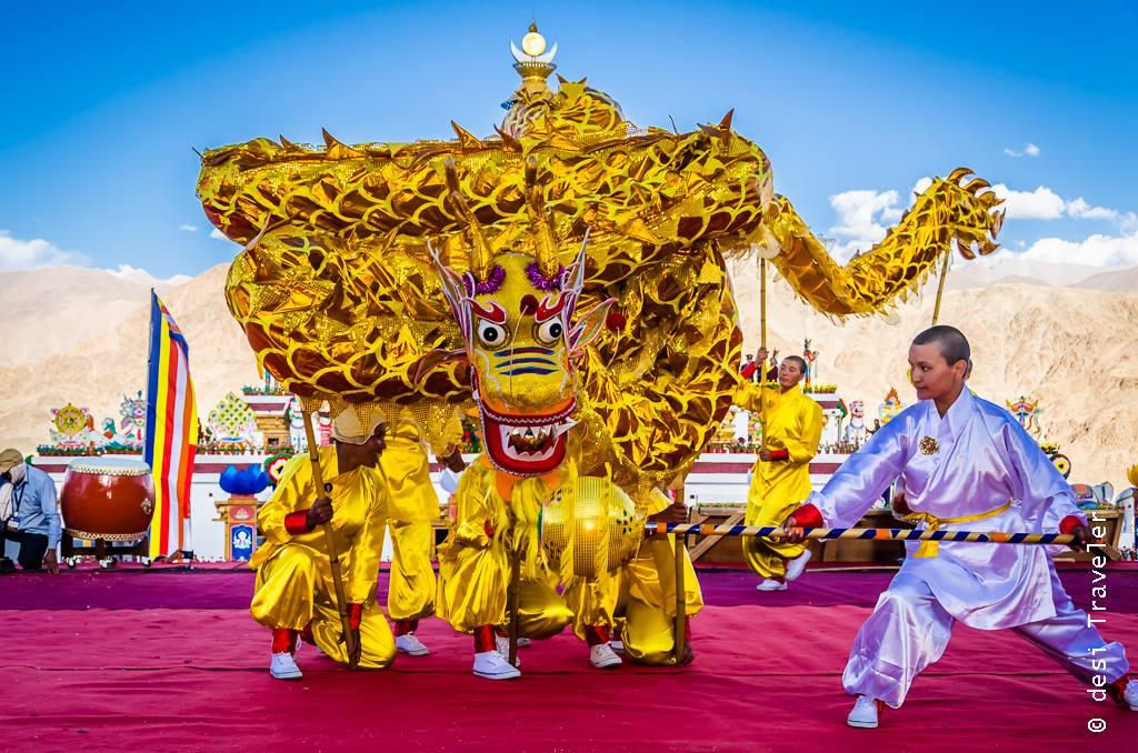 Dragon Dance Kung Fun Nuns