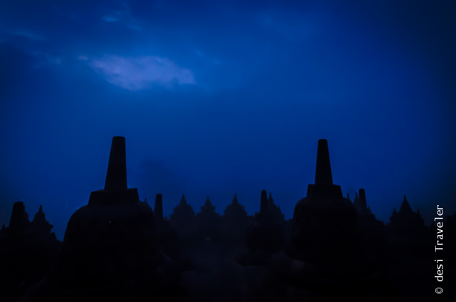 Borobudur UNESCO world heritage site