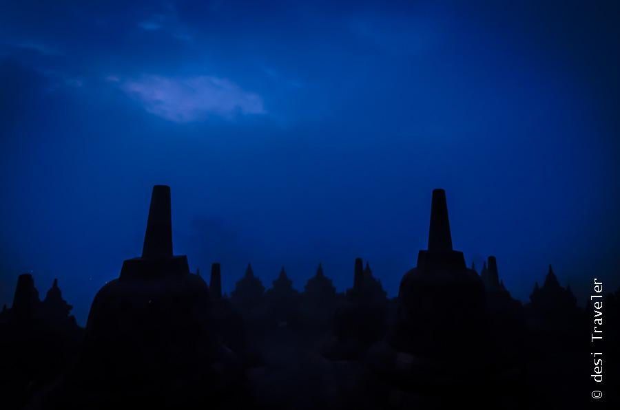 Borobudur UNESCO world heritage site
