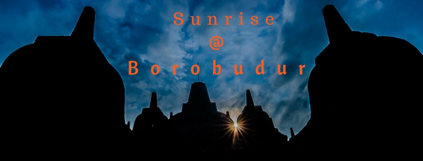 Sunrise Borobudur Temple Indonesia UNESCO World Heritage Site