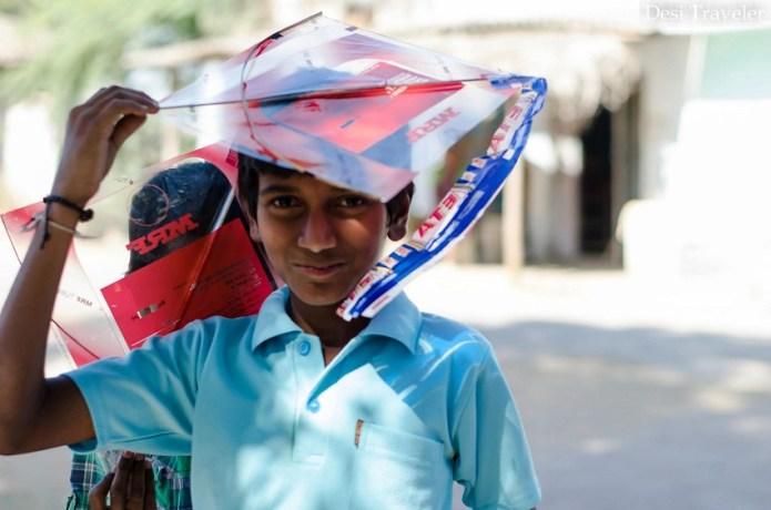Kite Flying Telangana Sankranti
