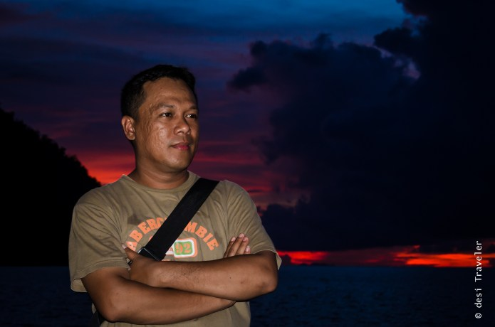 Sunset Portrait Raja Ampat