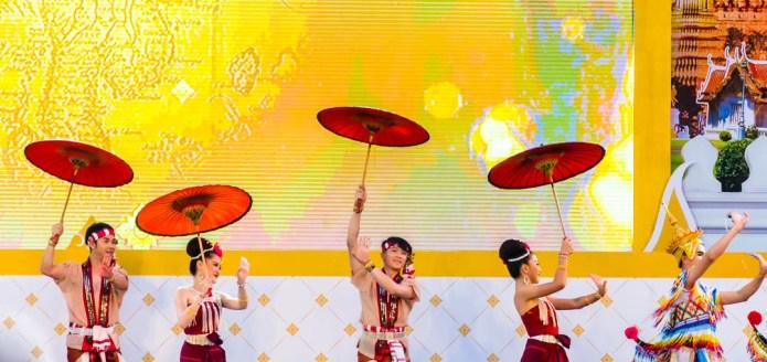 Thailand Tourism Festival Lumpini Park Bangkok