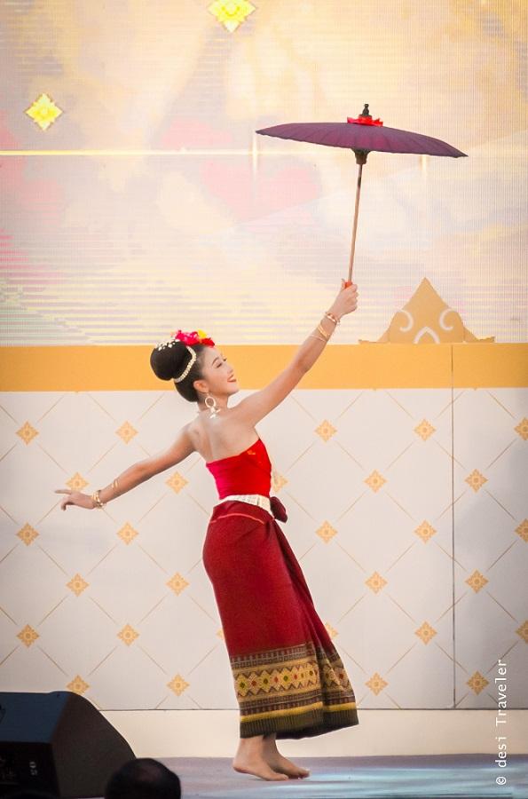 Thailand Tourism Festival Bangkok Performance