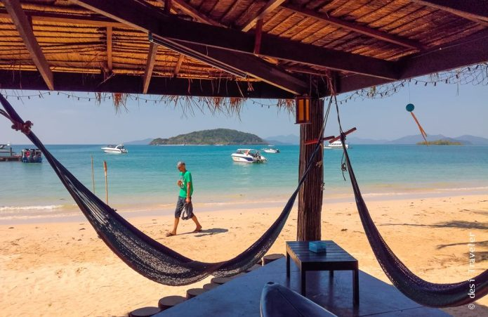 Hammock on beach Ko Maak Thailand