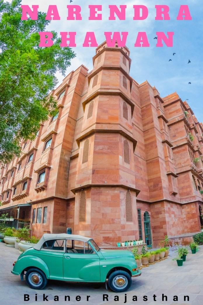 Narendra Bhawan Bikaner review  Luxury Heritage Hotel Bikaner India