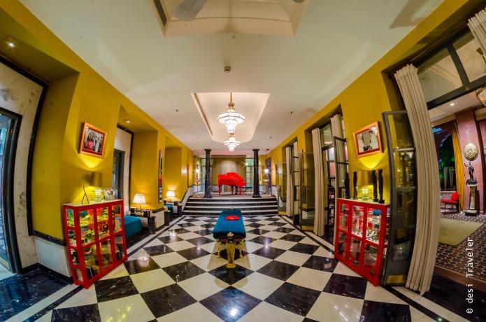 Red Piano Narendra Bhawan Bikaner