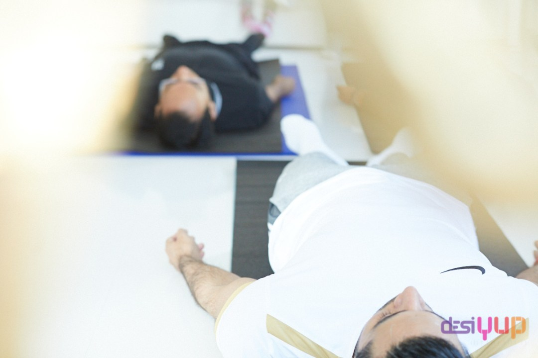 doing yoga nidra at home
