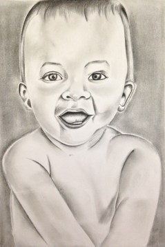 Pencil work by Dinisha
