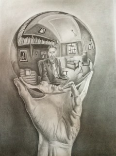 Pencil work by Aishwarya Jain
