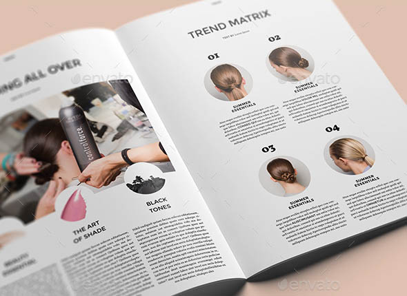 20 Fashion InDesign Magazine Templates  Desiznworld