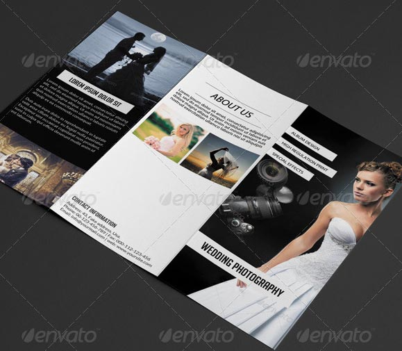 20 Beautiful Wedding Brochure Templates – Desiznworld