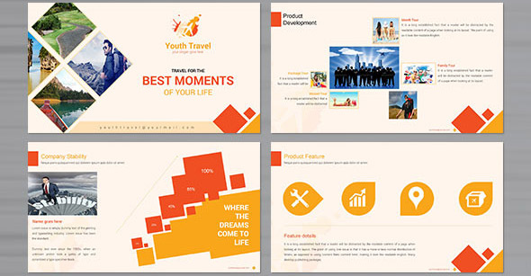 travel agency powerpoint presentation templates distination co